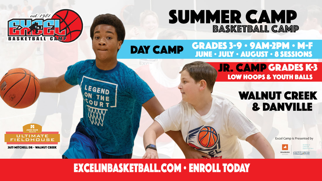 Excel Basketball Camp in Walnut Creek, CA